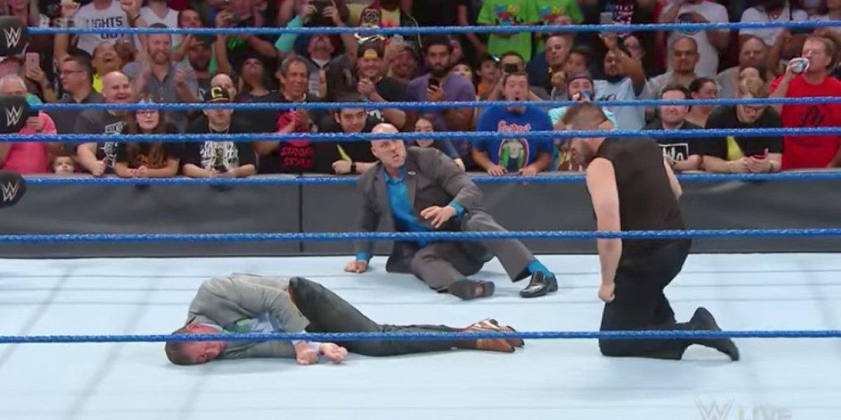 VIDEO: La brutal golpiza de Kevin Owens a Vince McMahon