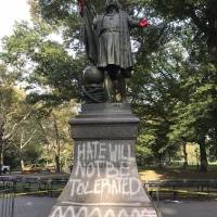 Estatua de Colón en Nueva York, EU