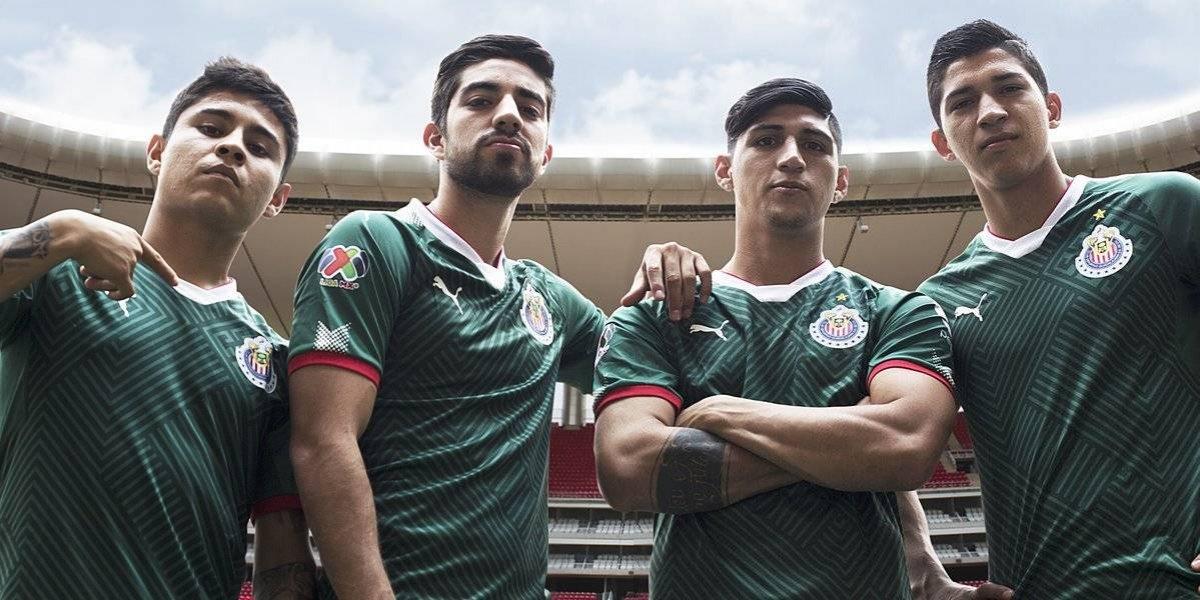 Chivas estrenará uniforme muy patrio