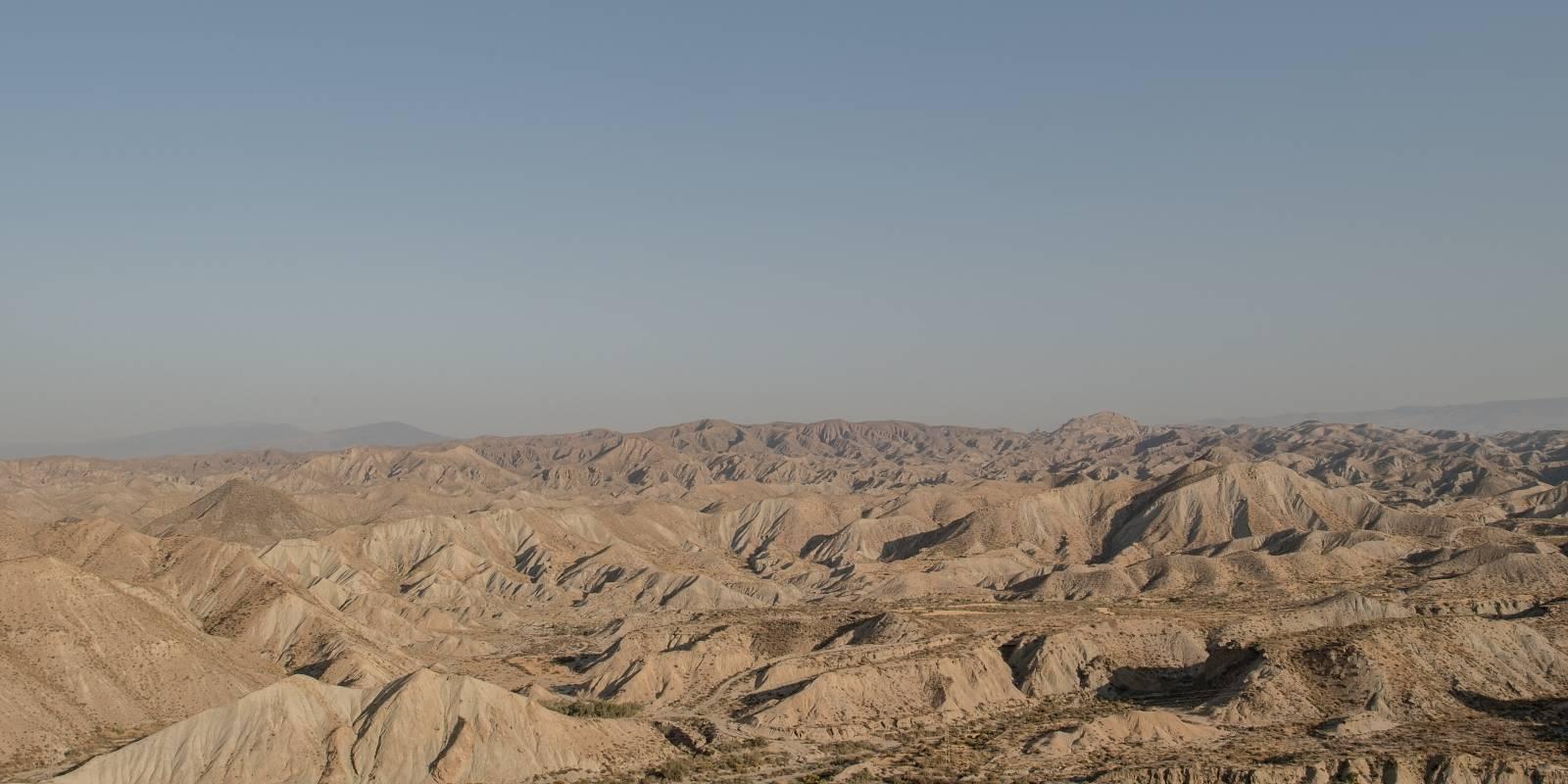 El cambio climático amenaza expandiendo los desiertos. Este, en el sur de España.
