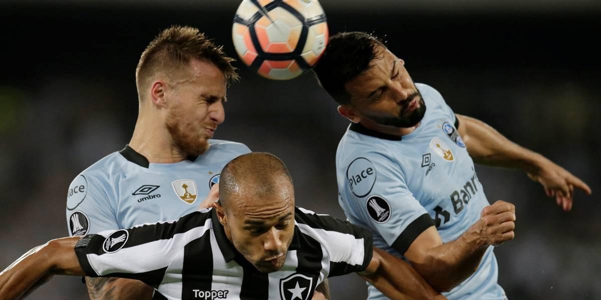 Botafogo e Grêmio ficam no empate na Libertadores