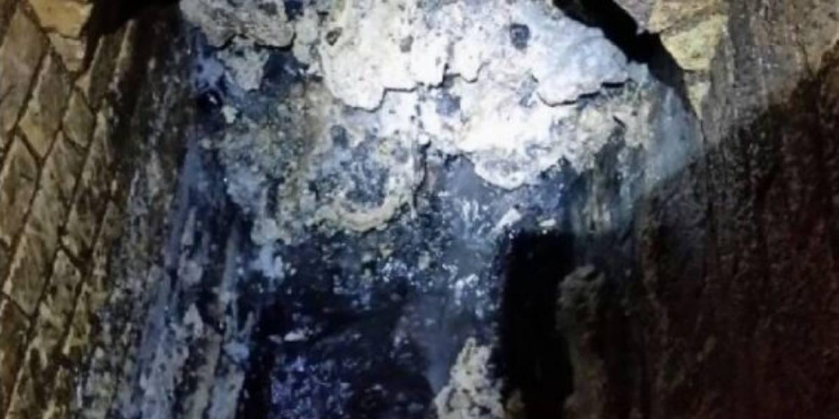 """""""Fatberg"""": el asqueroso y gigantesco """"iceberg"""" de grasa y basura que bloquea las alcantarillas de Londres"""
