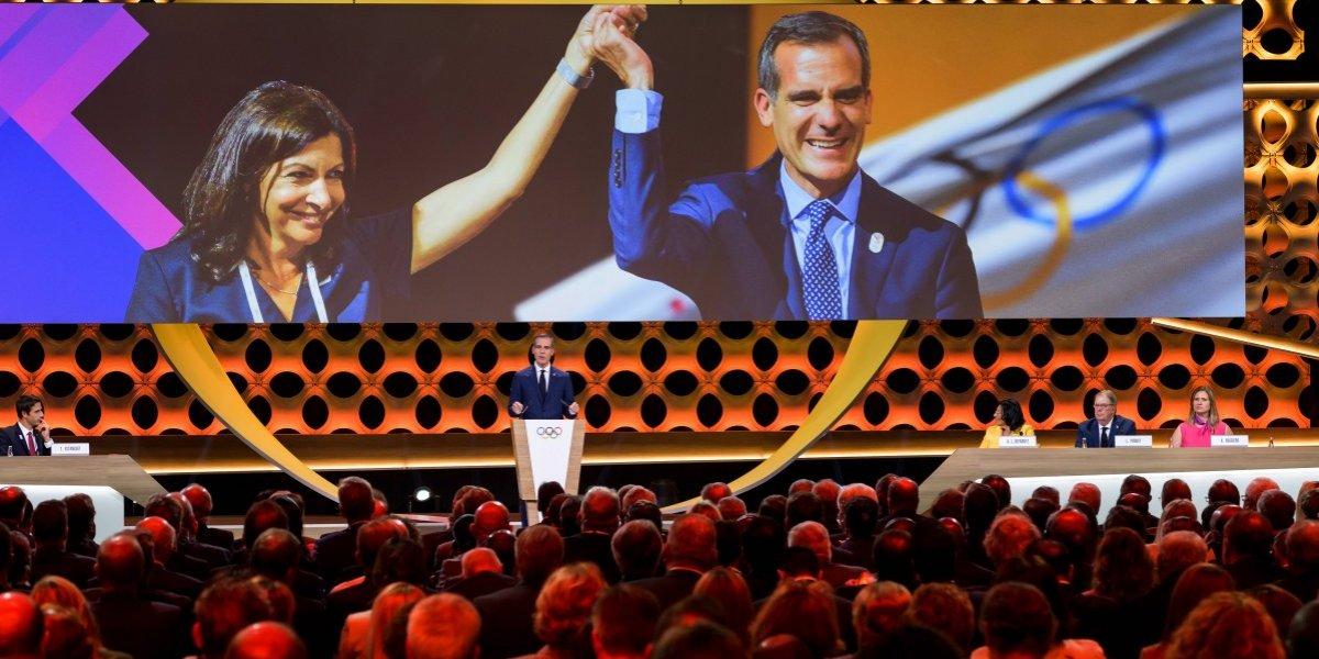 Los Ángeles celebra el regreso de los Juegos Olímpicos