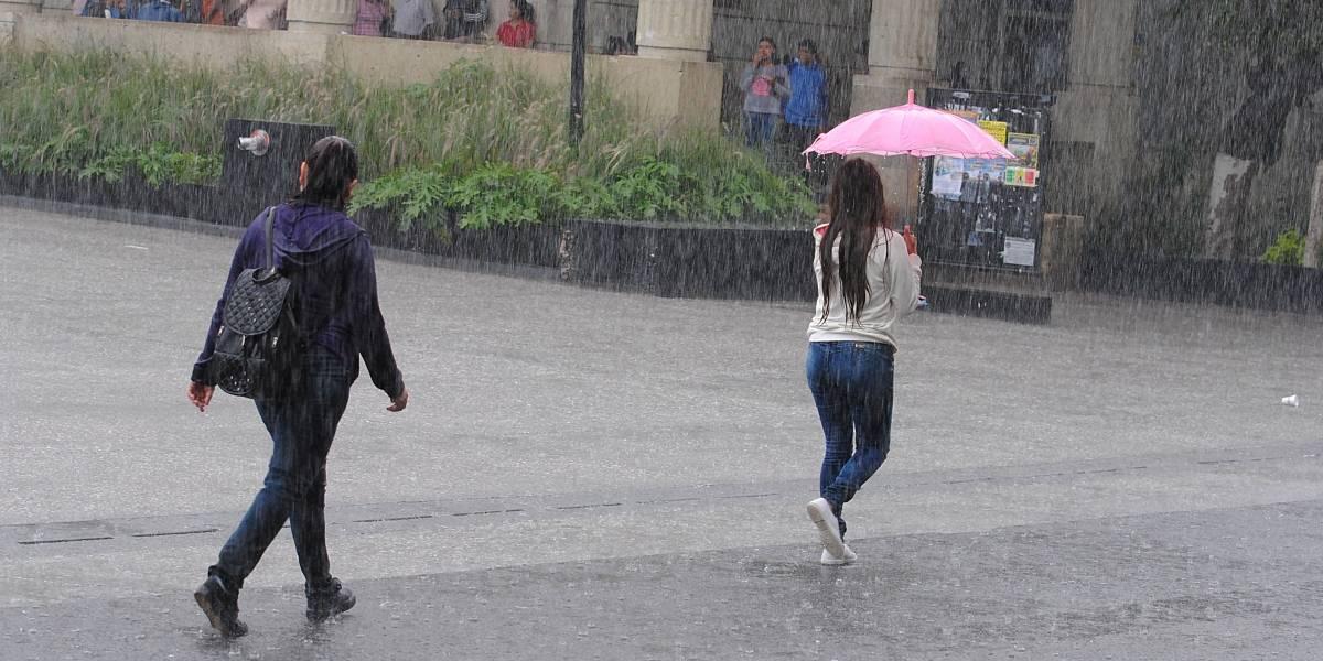 Este miércoles se esperan lluvias de diferentes intensidades en 22 estados