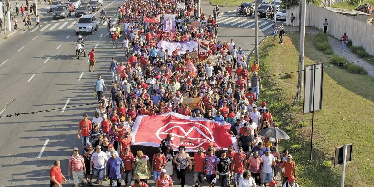 Justiça tenta acordo para invasão na Grande São Paulo