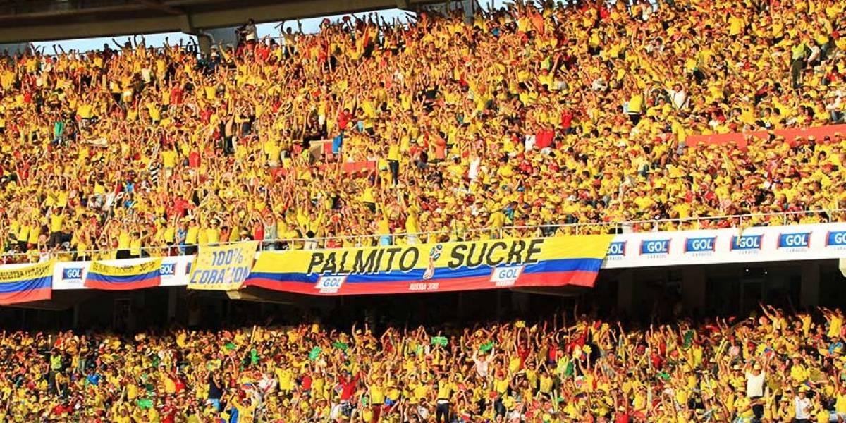 Por esta página web encontrará las boletas del partido Colombia – Paraguay
