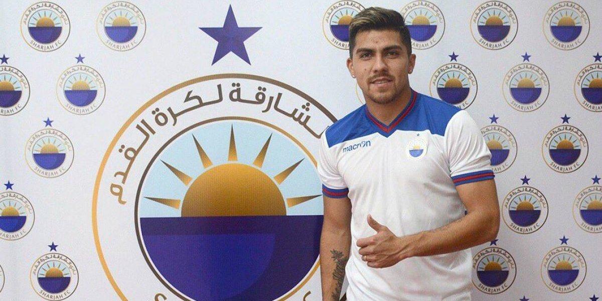 Su nueva aventura: César Pinares fue presentado en club de Emiratos Árabes