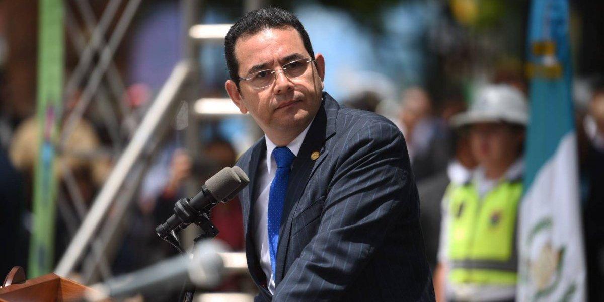 Presidente Jimmy Morales no descarta más cambios en gabinete de gobierno
