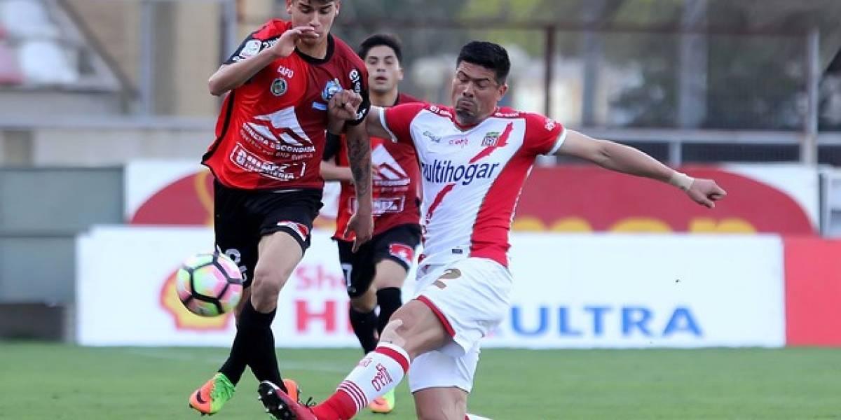 Antofagasta mantiene su invicto al empatarle sobre la hora a Curicó en Copa Chile