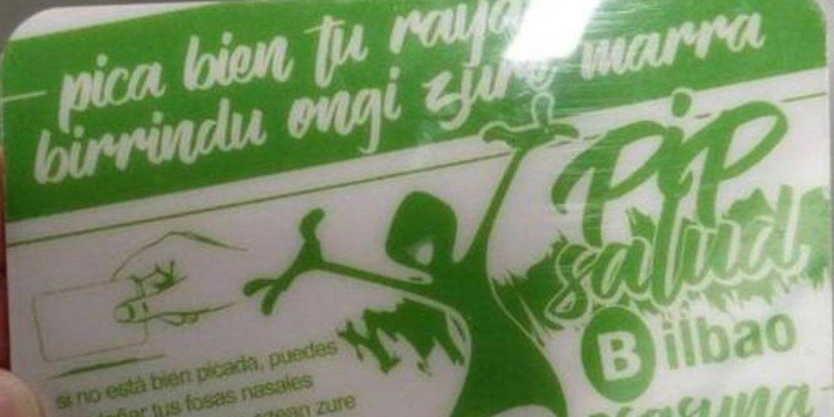 """""""Pica bien tu raya"""": la insólita campaña que daba consejos a los consumidores de droga para que lo """"hicieran bien"""""""