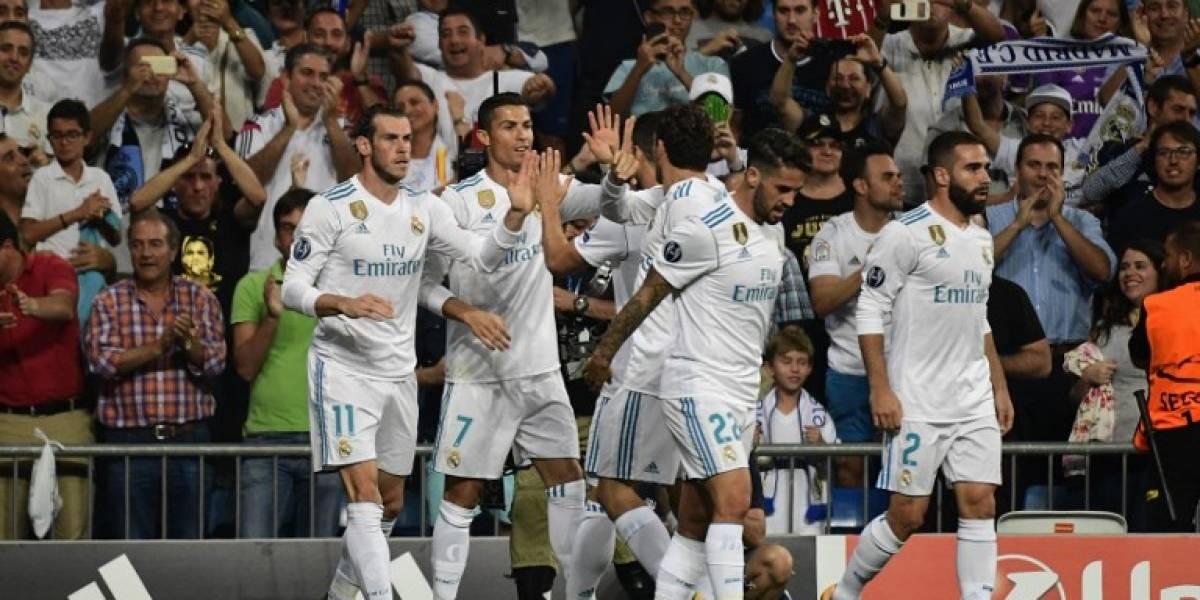 El Real Madrid inicia la defensa del bicampeonato con una victoria