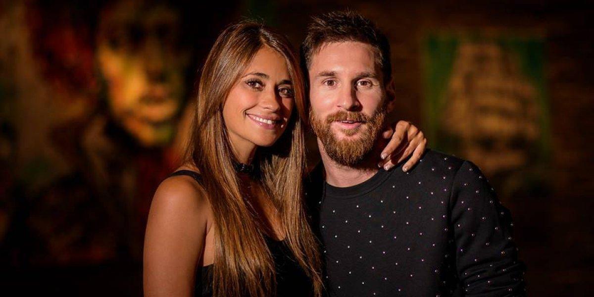 """Messi se hace un tatuaje """"picarón"""" en una zona íntima dedicado a Antonela"""
