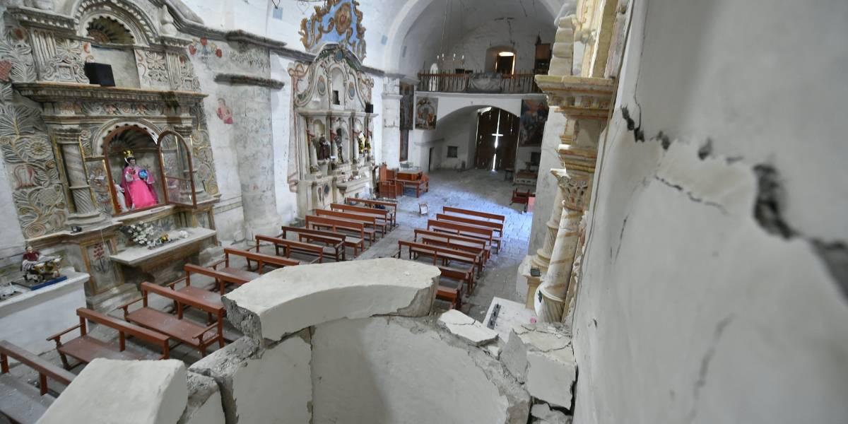 Veinte sismos sacuden Perú sin causar víctimas
