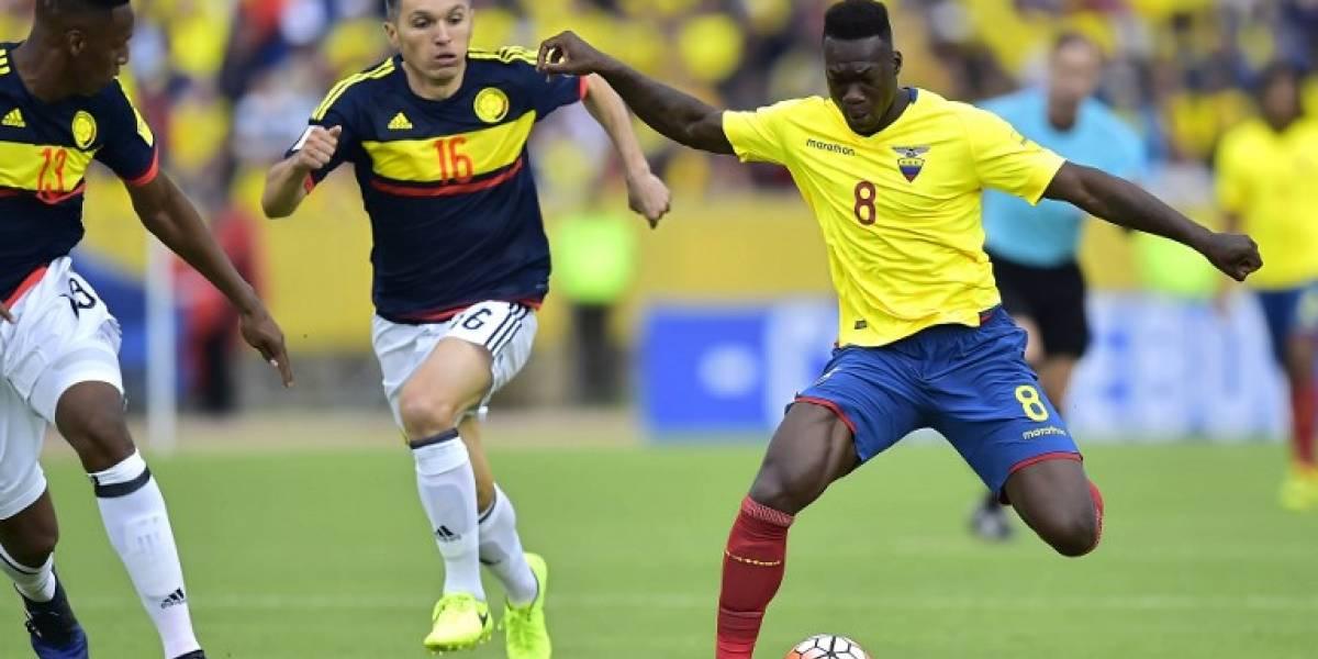 Ecuador sufre un duro golpe de cara a duelo con Chile: Felipe Caicedo renunció a la selección