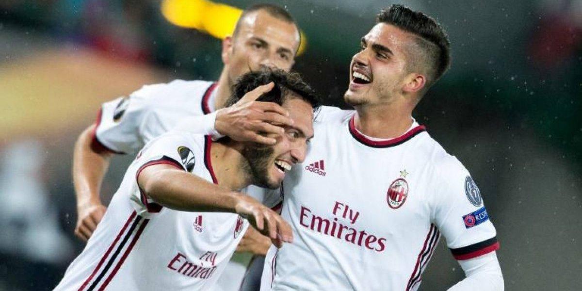 Resultado del partido entre AC Milan y Austria Viena por la Europa League.