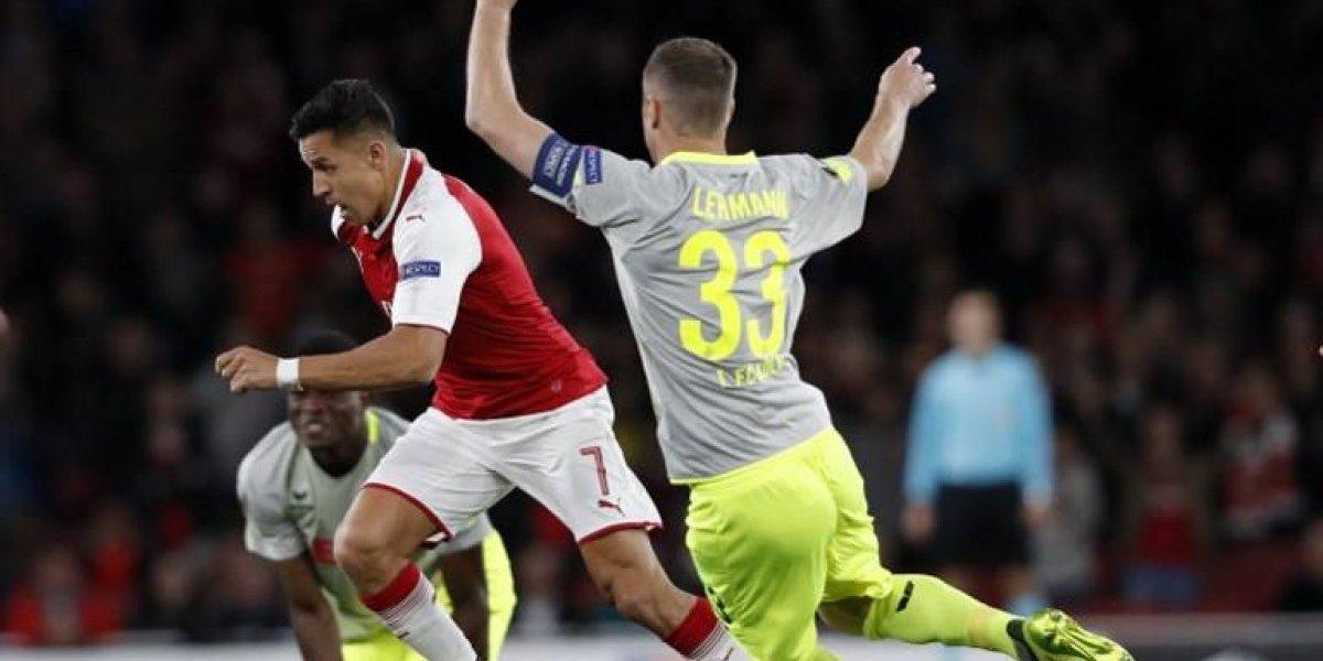 Así vivimos el triunfo de Arsenal ante Colonia con gol de Alexis Sánchez