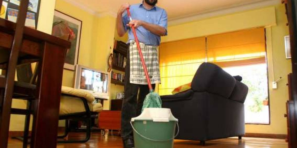 Baje de peso haciendo las actividades del hogar
