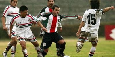 Roberto Ávalos (Palestino) / imagen: Photosport