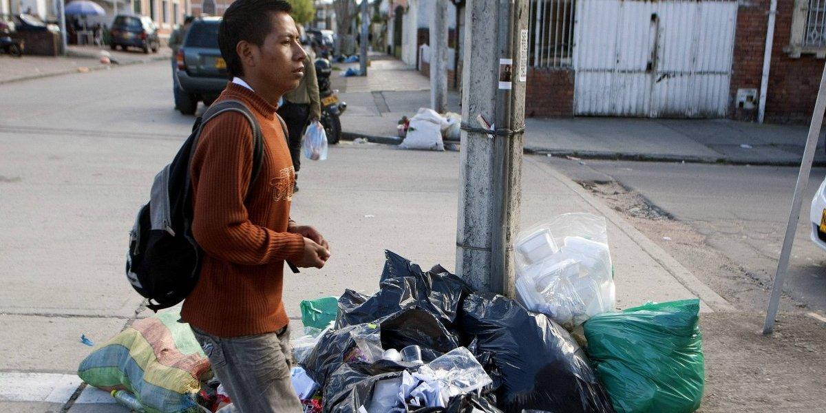 Graves irregularidades en camiones de basura de la empresa Aguas Bogotá