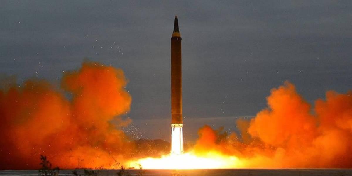 Corea del Norte lanzó un nuevo misil que sobrevoló Japón