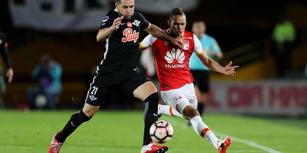 Santa Fe perdió ante Libertad y se quedó sin Copa Sudamericana