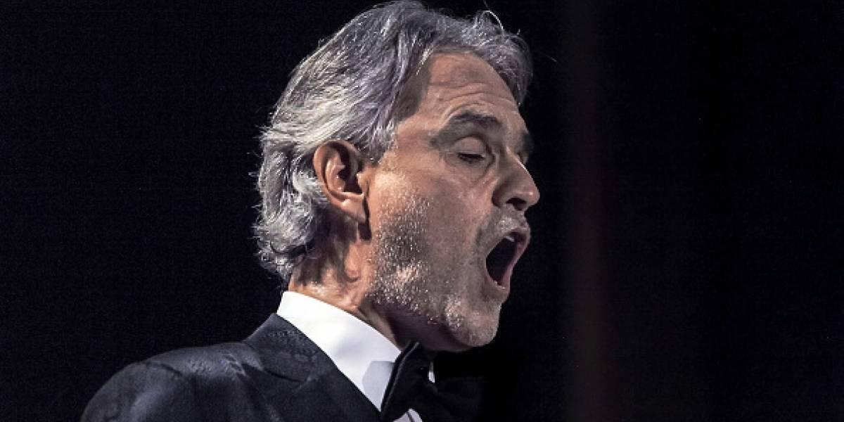 Andrea Bocelli fue hospitalizado tras accidente