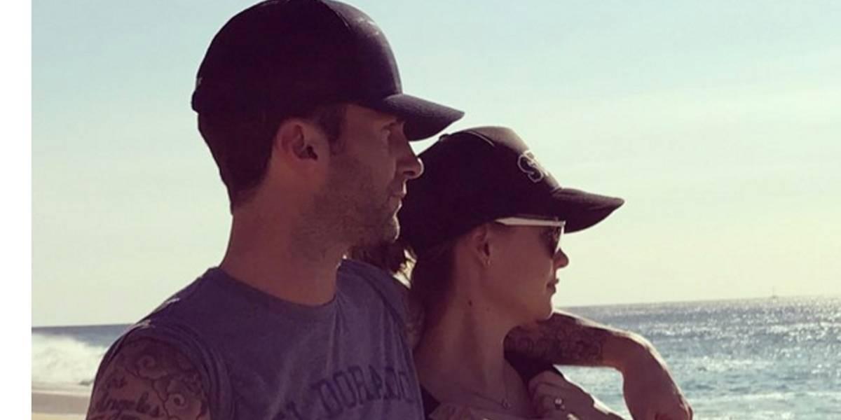 Adam Levine revela o sexo de seu segundo filho