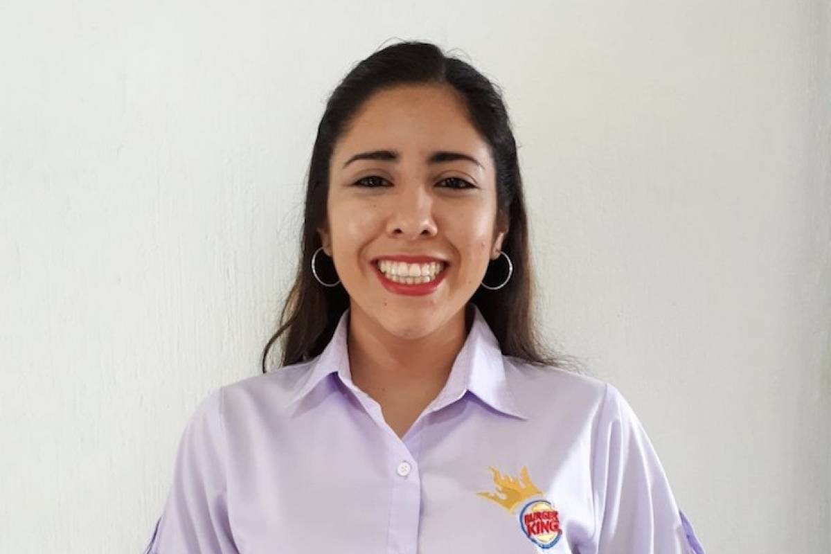 Arlynne García, Asistente de Marketing y Relaciones Públicas en Burger King Guatemala
