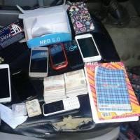 Objetos decomisados a delincuente en Ciudad Quetzal