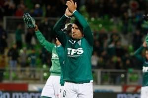 David Pizarro (Santiago Wanderers) / imagen: Agencia UNO