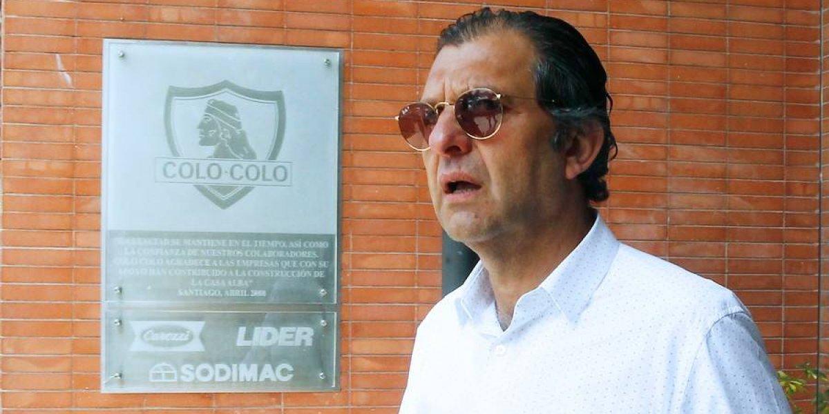Mosa vuelve a respaldar a Guede en Colo Colo y prepara la solución del conflicto con marca deportiva