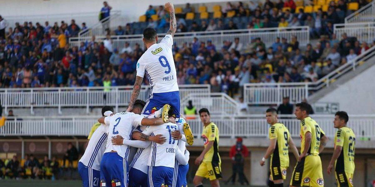 La U se vengó de San Luis y dio un paso clave a las semis de la Copa Chile
