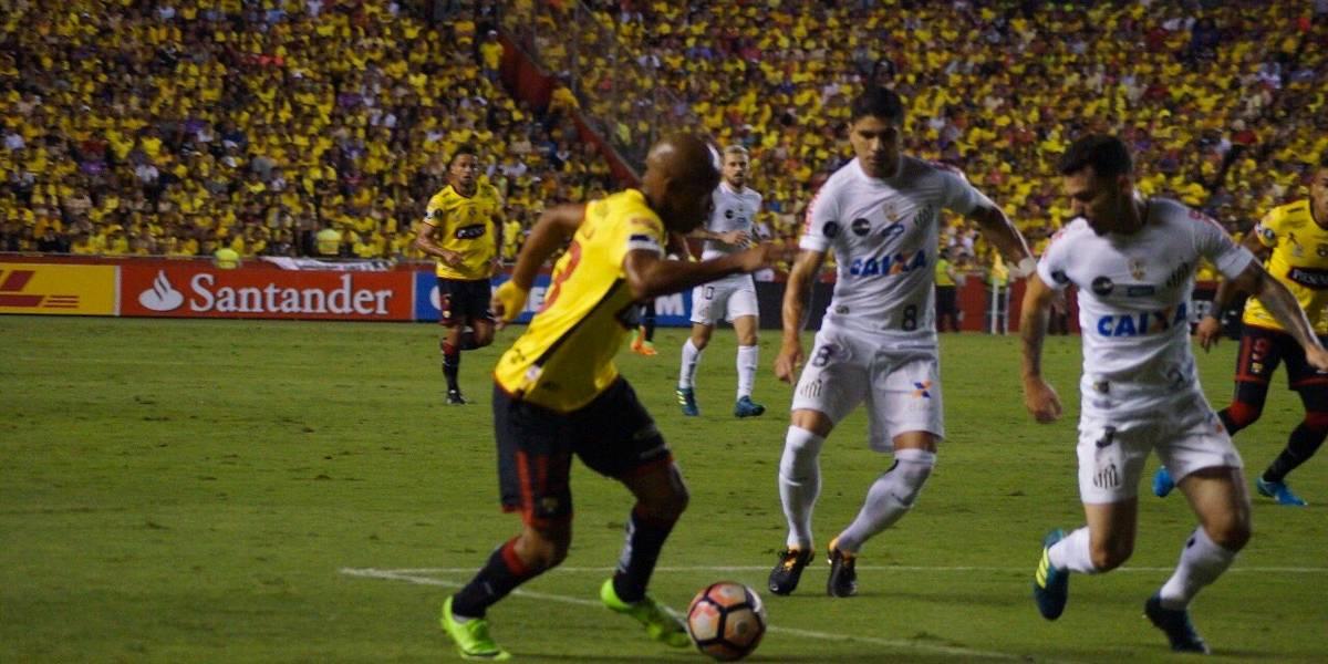 Santos cede empate ao Barcelona no Equador pela Libertadores