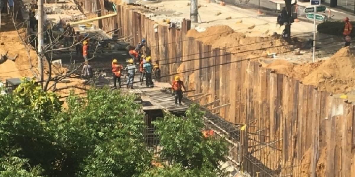 Aperturas y cierres de vías por canalización de arroyos en Barranquilla
