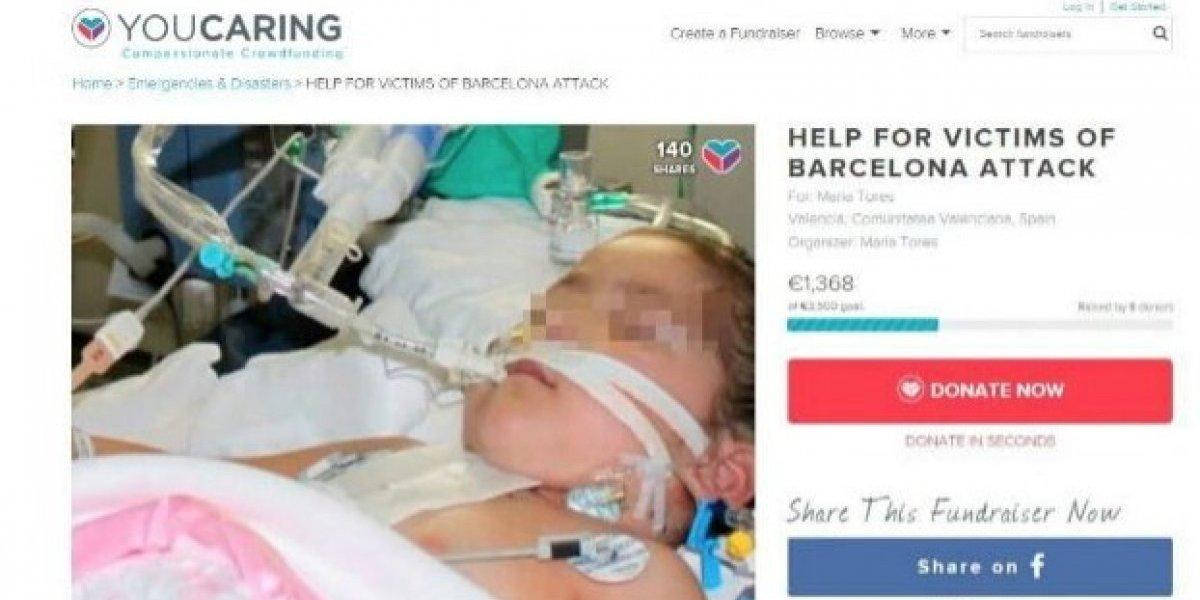 Las falsas víctimas de los atentados de Barcelona que se robaron el corazón y el dinero del mundo