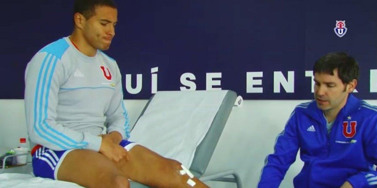 Así se prepara Leandro Benegas para volver a jugar por la U