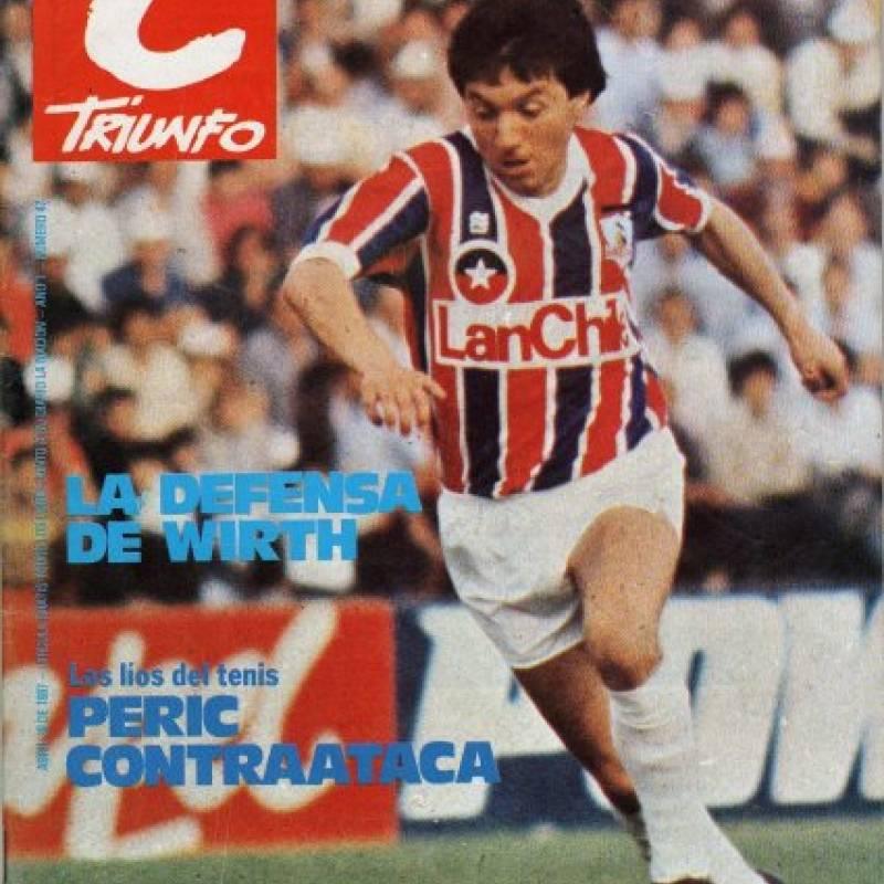 1987: El particular modelo de los albos (Penalty)