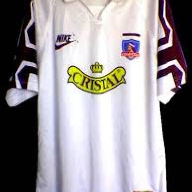 1995: Nike comenzó su relación con Colo Colo con esta casaquilla