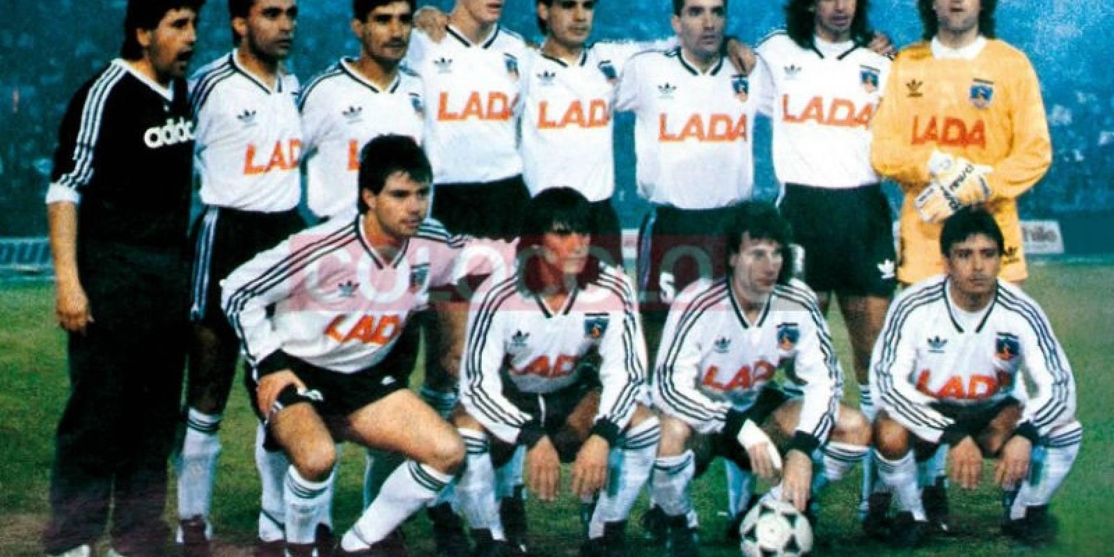 1991: El elenco de la histórica Copa Libertadores (Adidas)