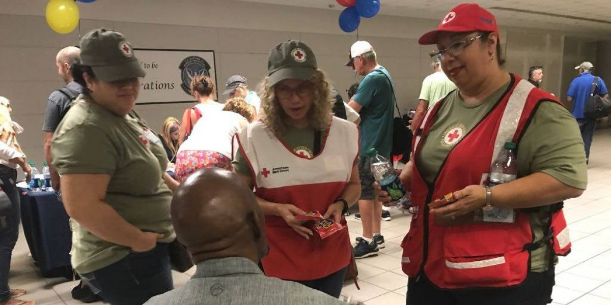 Cruz Roja ayuda a sobre 350 familias en Puerto Rico ante huracán Irma