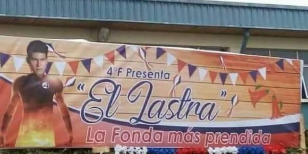 Ignacio Lastra: Liceo se disculpará con familia de ex chico reality tras polémico nombre de fonda