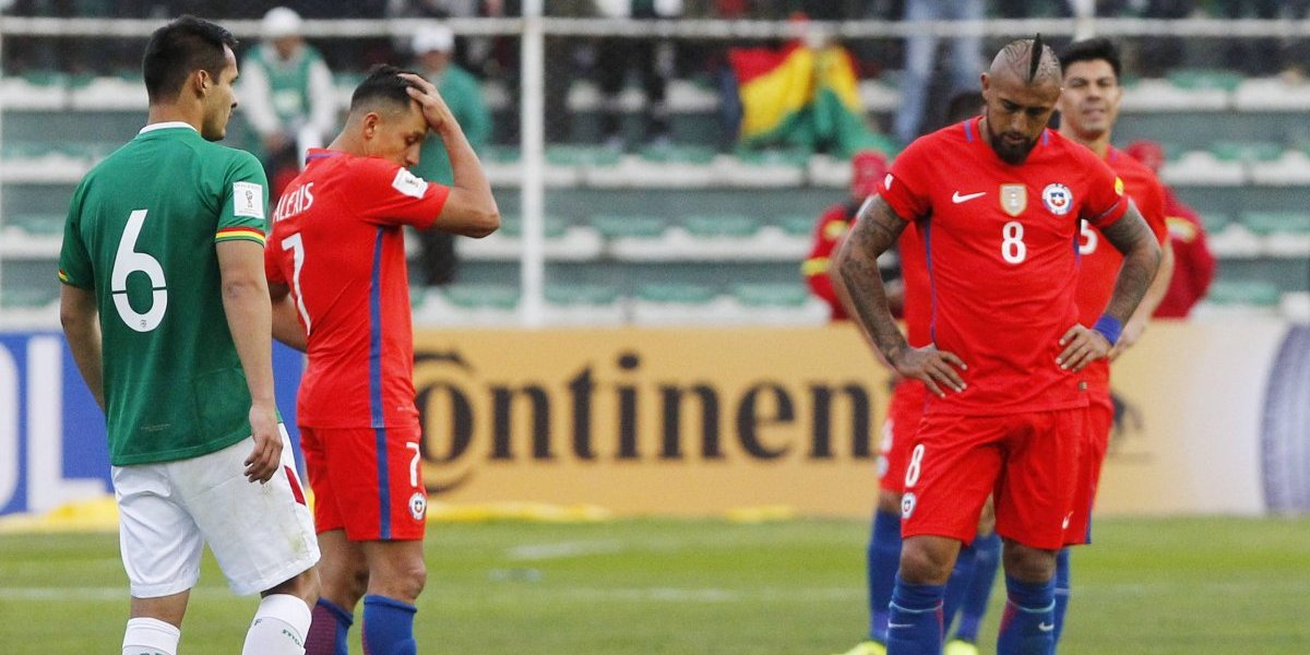 La Roja paga sus pecados y va a la baja en el ranking FIFA
