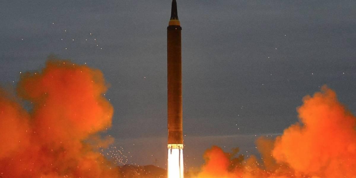 Último misil norcoreano fue de alcance intermedio y sobrevoló Japón