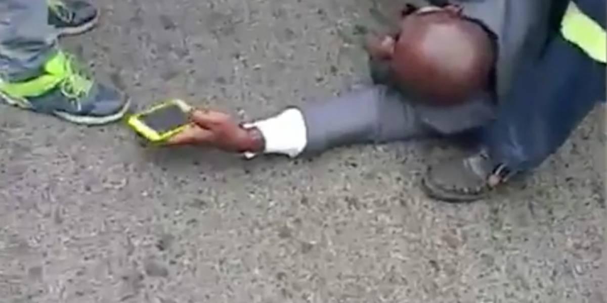 Video del guardaespaldas herido de Álvaro Noboa se hace viral