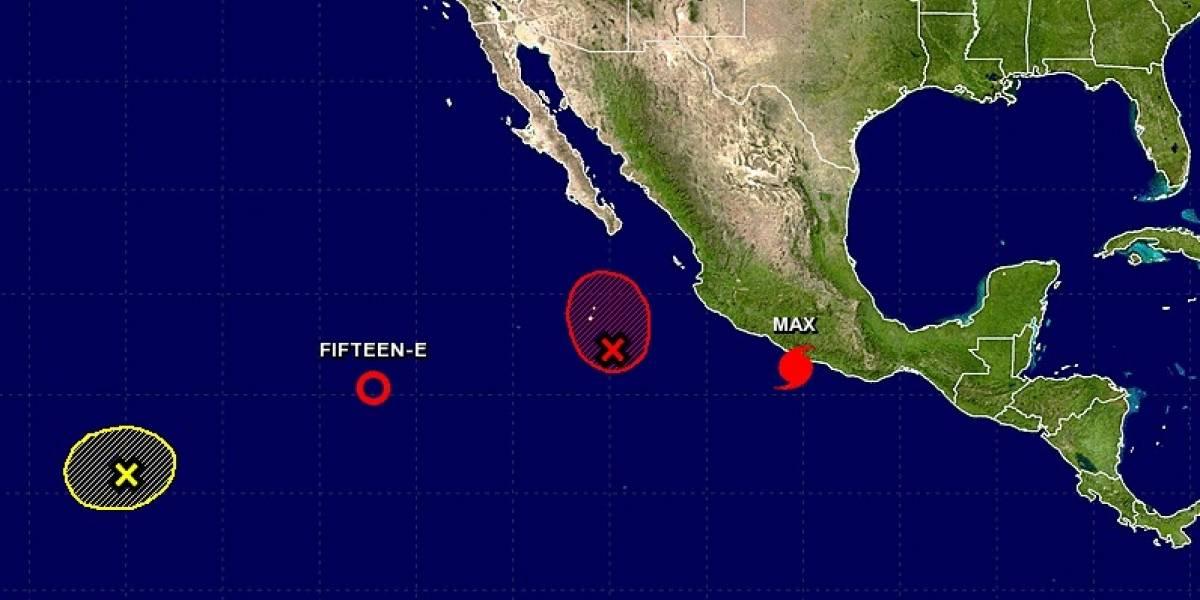 Se forma el huracán Max en el Pacífico