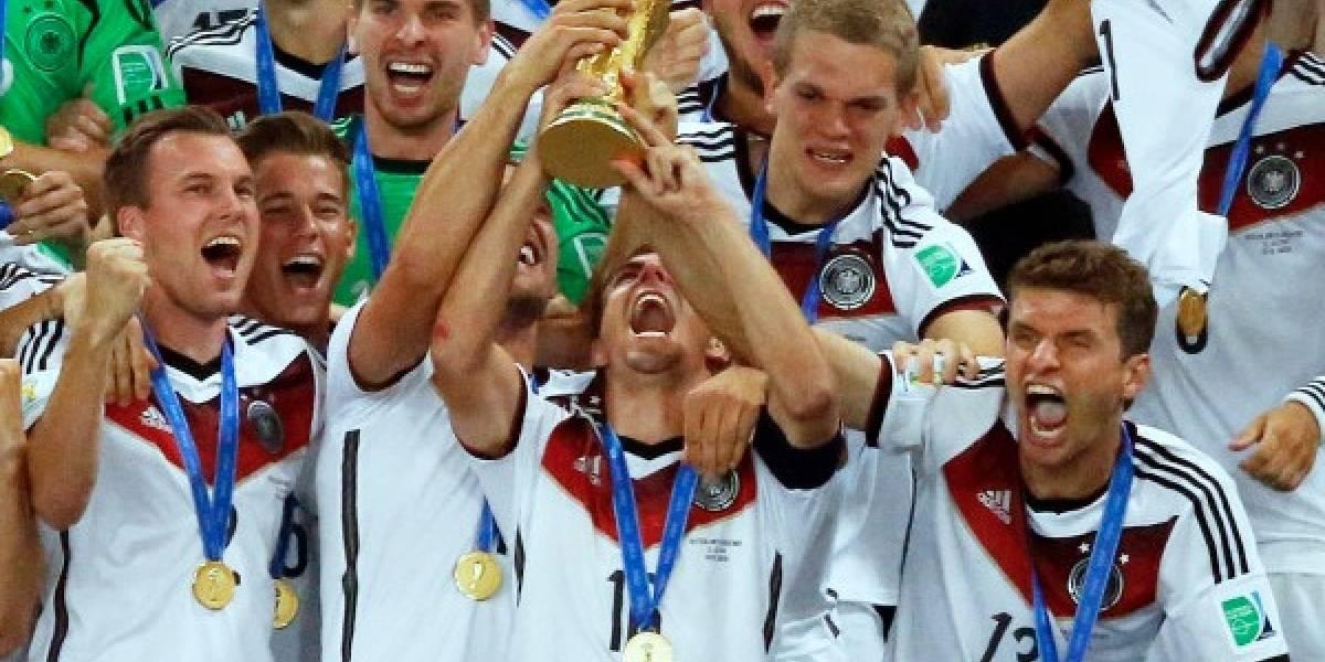 Alemania desplaza a Brasil como reyes ranking FIFA