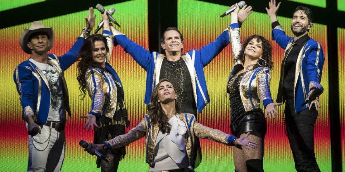 FOTOS: Así se vivió el primer concierto del reencuentro de Timbiriche en el Auditorio