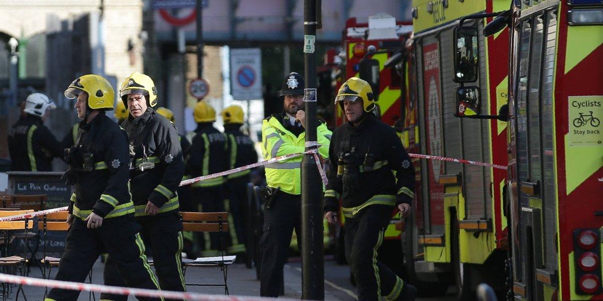 Estado Islámico se adjudica atentado en metro de Londres