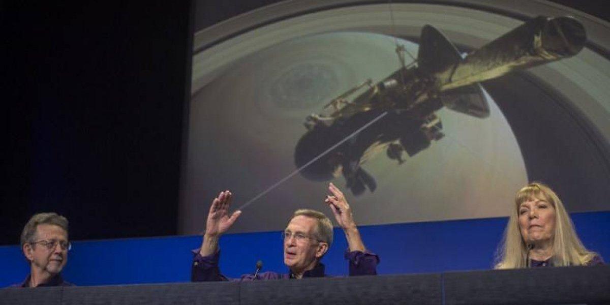 Sonda Casini se autodestruye al acercarse a los anillos de Saturno