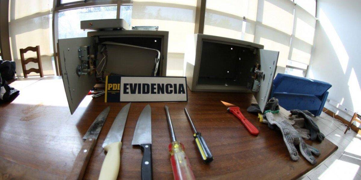 Gracias a un pasaporte PDI identifica a sospechosos de asalto con destornilladores a familia en Chicureo